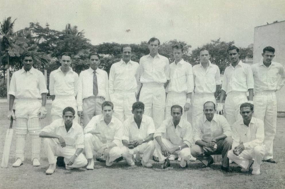 Bangalore prior to the game against the Mysore State Association XI