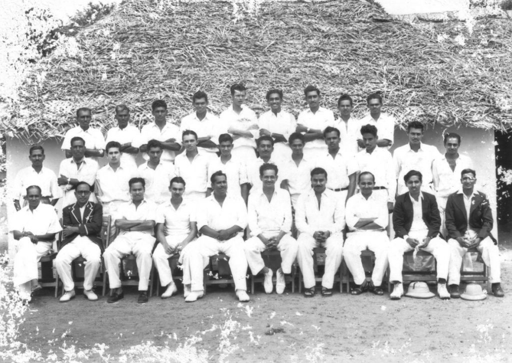 Colts versus the Maharajah of Puddukottai's XI